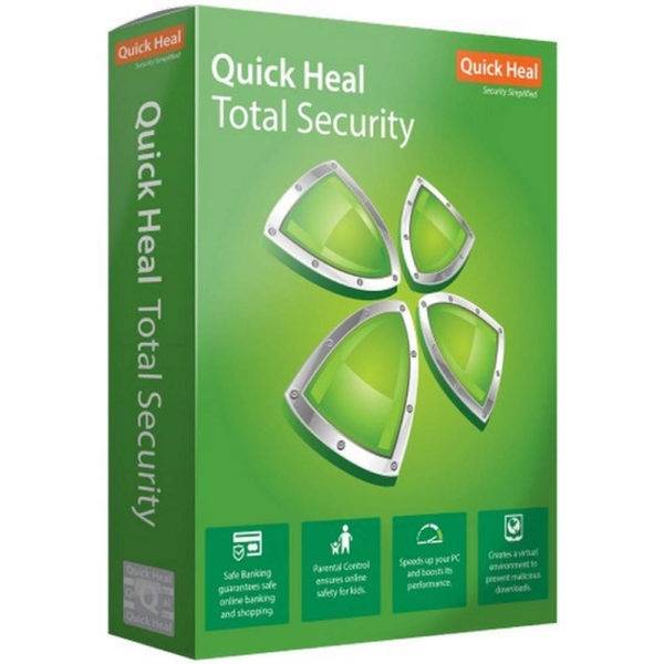 Quick Heal Total Security 1 PC 1 Year Delhi Nehru Place