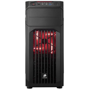 Corsair Carbide Tower Steel Gaming Case with Red LED Cabinet Nehru Place Dealers