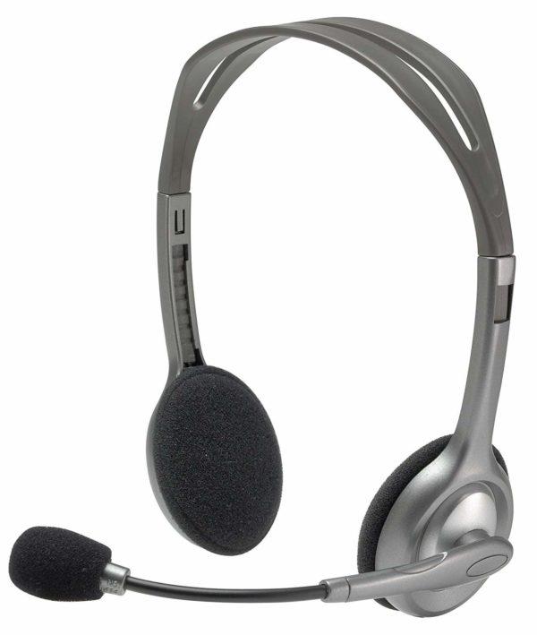 Logitech H110 Stereo Headset Price Delhi Nehru Place