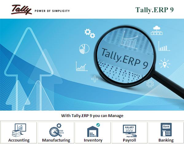 Tally.ERP 9 Gold