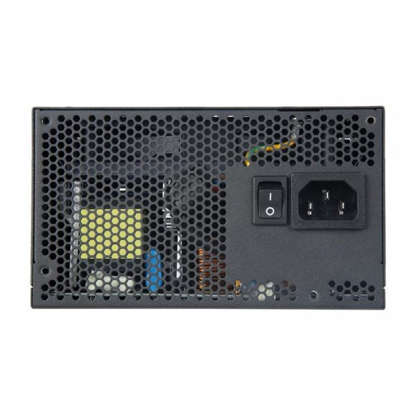 """Antec EA750G PRO 80 Plus Gold Certified 750 Watt Semi- Modular Gaming Price Delhi Nehru Place India. 750W Continuous Power - Guaranteed 750W of Continuous Power from Antec 80 PLUS Gold certified - Up to 92% efficient, to reduce your electricity bill 120 mm Silence - Whisper-quiet high-quality fan with long lifetime Semi-modular cable management Improves airflow and reduces clutter 99% +12V - Output for maximum CPU & GPU support Japanese Heavy-Duty Caps - High-performance capacitors ensure DC stability and regulation 4x PCI-E connectors for multiple GPU support ATX12V 2.4 - Engineered according to the newest PSU guideline and compatible with the latest CPU generation PhaseWave Design-A server-class full-bridge LLC design with a synchronous rectification based on a DC-DC topology Circuit Shield"""" Full suite of industrial grade protections: Over Current Protection (OCP), Over Voltage Protection (OVP)."""