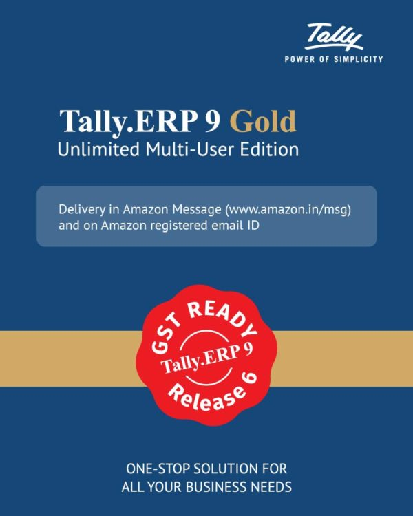 Tally ERP 9 Gold Renewal Price Delhi Nehru Place in India.