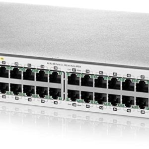 Aruba 2530 48G PoE+ Switch (J9772A) - 48 Ports + 48 Black CAT6 Cables
